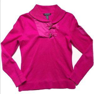 LAUREN Ralph Lauren dark pink women's sweater